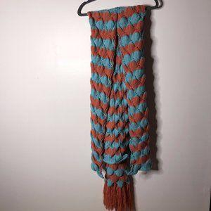 Handmade Womens Mermaid Fringe Tail Blanket Sz 80